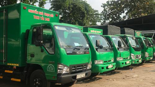 Thuê xe tải chở hàng quận bình tân
